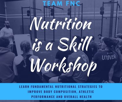 FNC Nutrition is a skill workshop